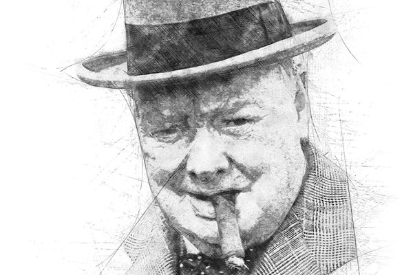 Sir-Winston-Churchill-Sketch