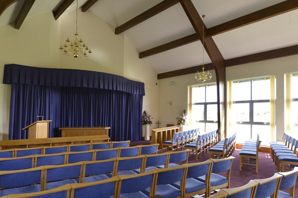 Crematorium interior Dignity Funerals