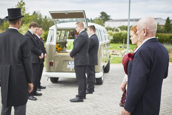 Alternative hearses Dignity Funerals