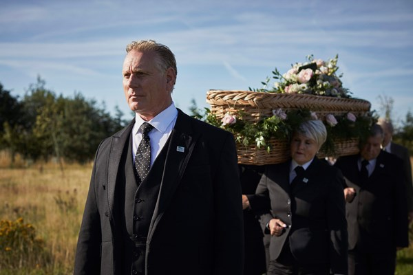 Woodland burial funeral director Dignity