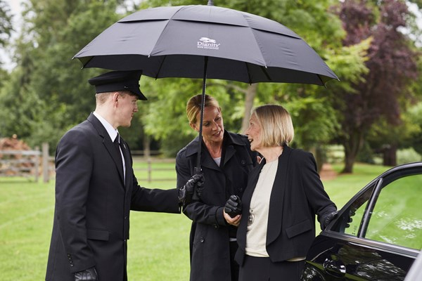 How to find a funeral director Dignity