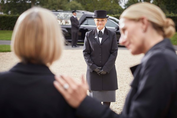 What does a funeral director do Dignity Funerals