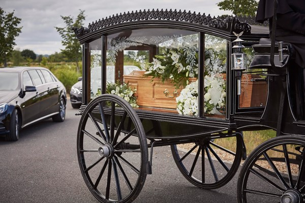 Alternative funeral transport Dignity Funerals