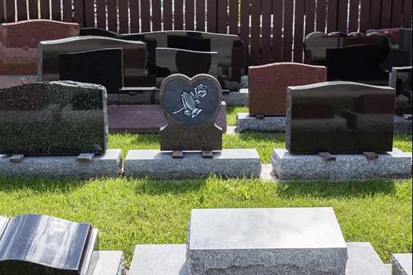 Headstones for graves Dignity Funerals