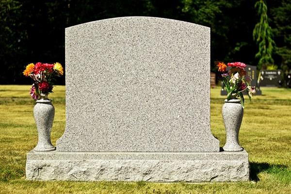 Memorial vase Dignity Funerals