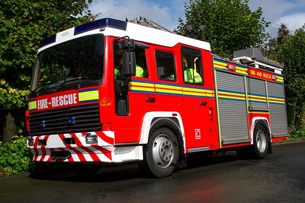 Personalised Fire Engine | Dignity Funerals